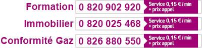 Numéros de téléphone spéciaux